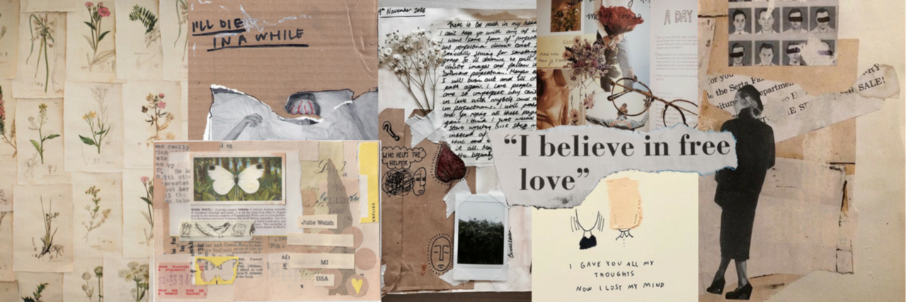 aesthetic, Collage, and relax image