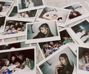 aesthetic, winter, and blackpink image