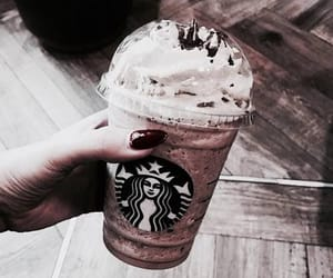 starbucks, cream, and drink image