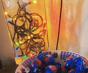 christmas, light, and cioccolata image