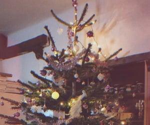 aesthetic, christmas tree, and christmas image