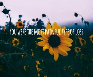 flowers, sunflower, and hurt image