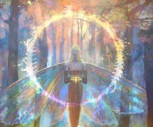 art, fantasy, and light image