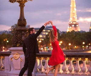 couple and france image