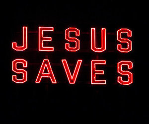 jesus, pic, and saves image