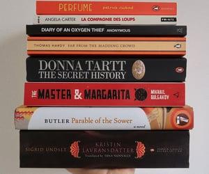 books, book stack, and autumn books image