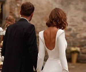 beauty, fashion, and wedding image