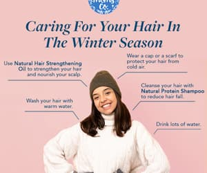 hair care products, winter haircare, and natural haircare image