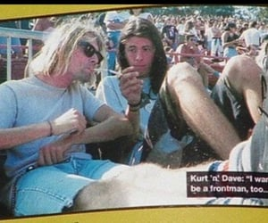 dave grohl, grunge, and nirvana image