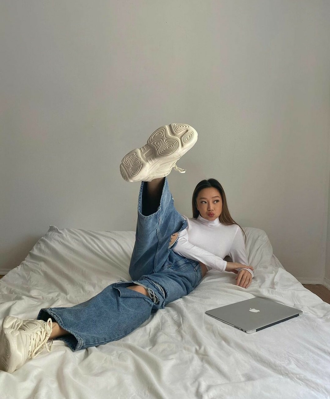 bed, college, and cool image