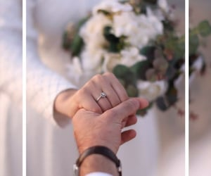 bride, couple, and hands image