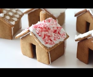 baking, gingerbread house, and lifestyle image