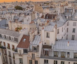 french, lovers, and buildings image