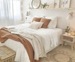 bed, decoration, and inspiration image
