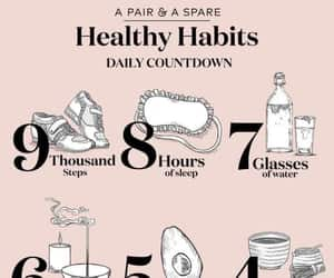 healthy, fitness, and lifestyle image