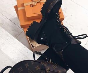 black, Louis Vuitton, and pretty image