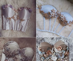 bustier, clothes, and dress image