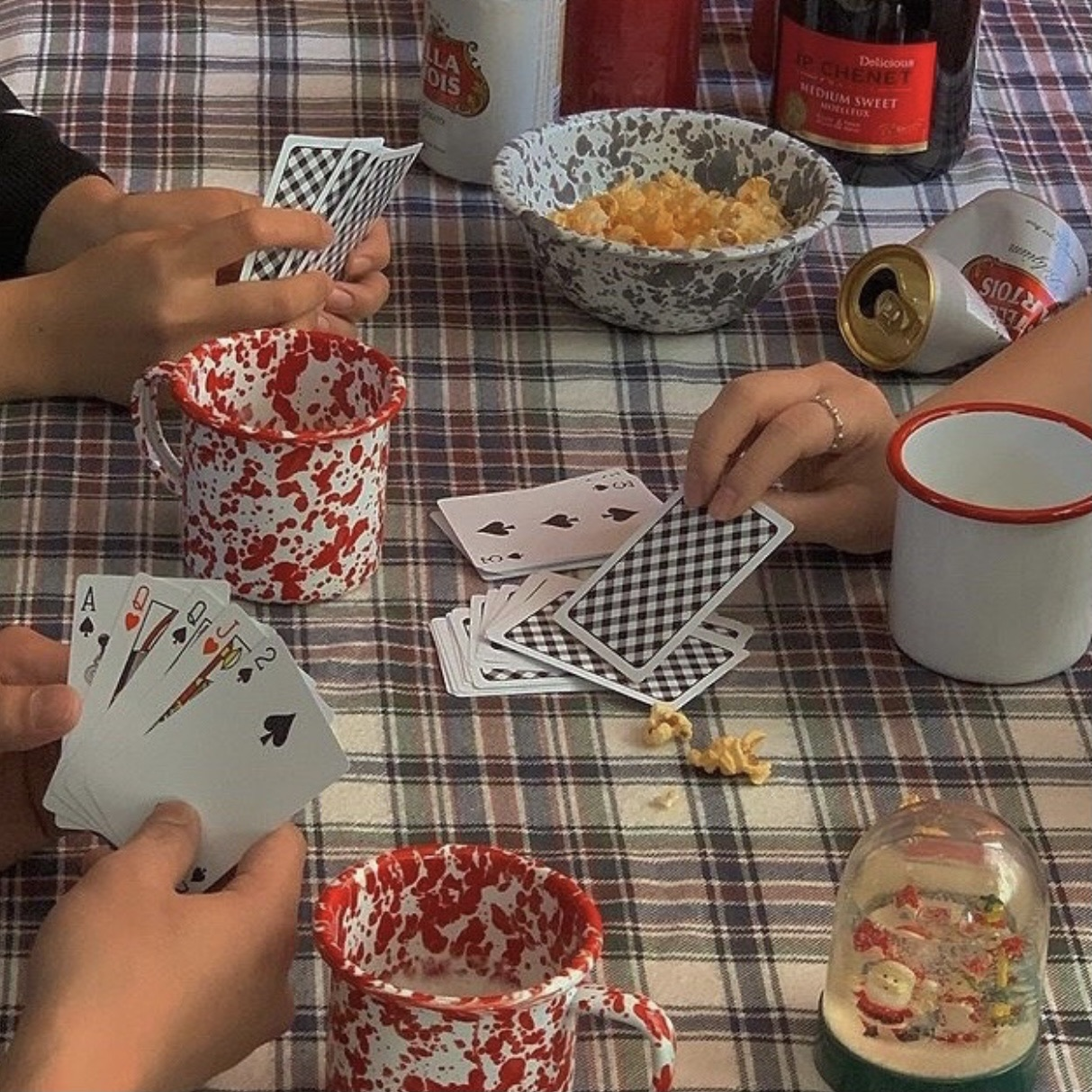 aesthetic, cards, and friends image