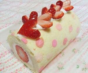 food, strawberry, and kawaii image