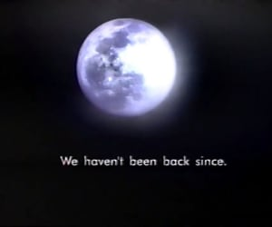 moon, screen cap, and subtitles image