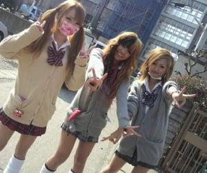 japan, gal, and gyaru image
