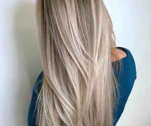 blond, cheveux, and long image