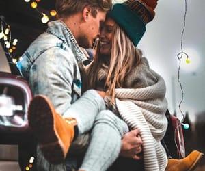 amour, couple, and hug image