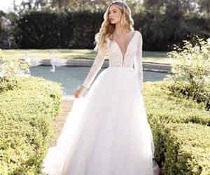 repost, wedding dress, and women's fashion image