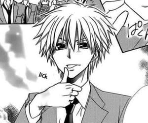 manga, manga boy, and kaichou wa maid sama image