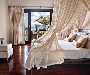 luxury, bed, and house image