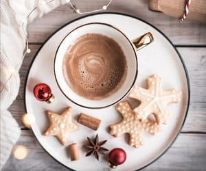 christmas, coffee, and coffee cup image