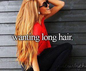 hair, long hair, and long image