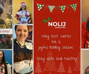 ugly sweater contest and nolij consulting image
