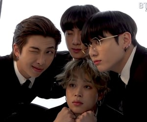 bts, rm, and jin image