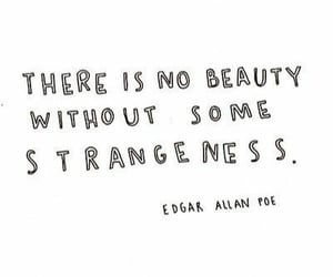 quotes, beauty, and strange image