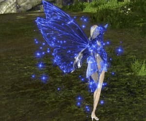 blue, fairy, and gif image