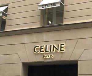 luxury, store, and celine image