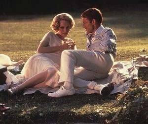blonde, lake, and picnic image