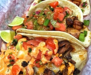 tacos, cheese, and food image
