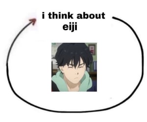 anime, edit, and funny image