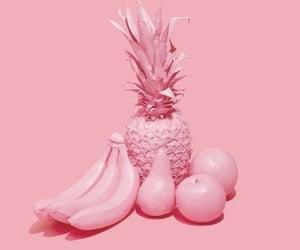 banana, pink, and apple image