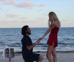 engaged, princess, and proposal image