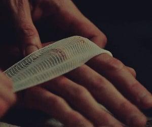 aesthetic, bandage, and hand image