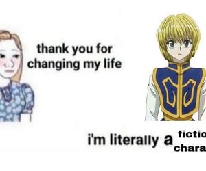 anime, hxh, and meme image