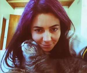 cat, hair, and indie image