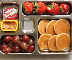 bento box, lunch, and food image