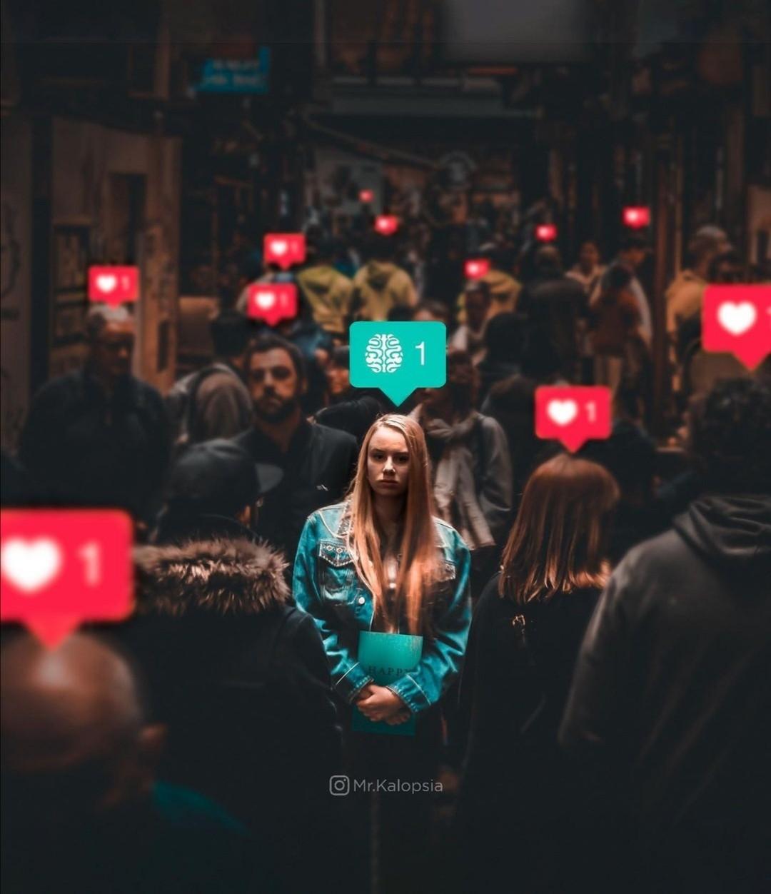 girl, thinking, and emoji image