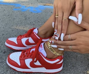 cherry, nails, and nike image