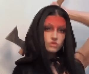 gif, goth, and gifs image