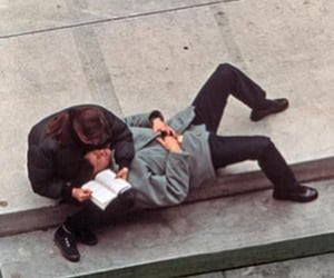 couples, lovers, and reading image